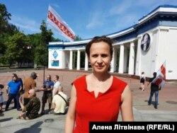 Народная дэпутатка Ўкраіны Юлія Кліменка