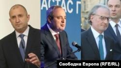 Румен Радев, Анастас Герджиков и Лозан Панов