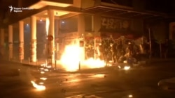 Судири на протестите во Атина за посетата на Обама
