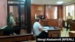 ფოტო არქივიდან: თელავის სასამართლოს სხდომა მიხეილ გრემელაშვილის საქმეზე