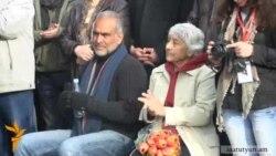 Րաֆֆի Հովհաննիսյանի ծնողները ժամանել են Հայաստան
