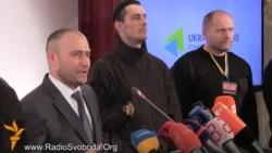 Ярош закликав засудити дії Путіна