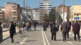 EU Foreign-Policy Chief Visits Mitrovica Bridge