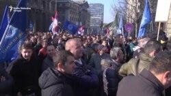 Beograd: Drugi protest policije i vojske