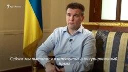 Павел Климкин: планируем пригласить Дуню Миятович в Крым (видео)