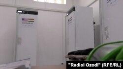 Ультра-морозильные камеры для Национального центра иммунизации Таджикистана
