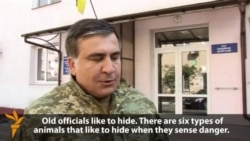 Saakashvili: Corrupt Officials 'Only Playing Dead'