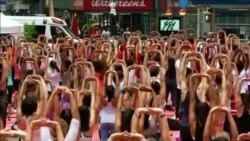 Генеральный секретарь ООН присоединился к празднованию Дня йоги