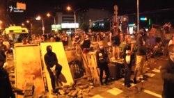 Протести в Мінську: сутички з ОМОНом та барикади (відео)
