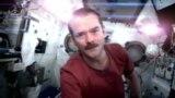 Астронавт ғарышта ән айтты