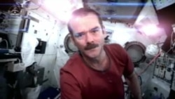 Astronaut Exits ISS With Music Video