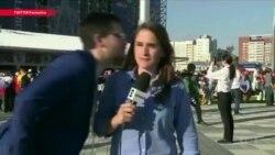 Поцелуи на Чемпионате: женщины говорят о домогательствах, полиция не вмешивается