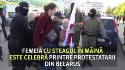 Bunica în vârstă de 73 de ani care a fost arestată la protestele din Belarus