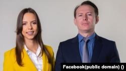 Premierul Florin Cîțu și președinta Tineretului Național Liberal, Mara Mareș