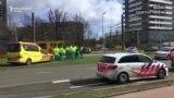 Blokirane ulice nakon napada u Utrechtu