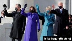 Cele două cupluri care vor conduce SUA, pentru următorii patru ani, au atras și atenția designerilor vestimentari