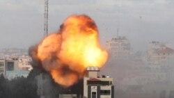 Gazadaky konflikt möwjeýär. Fransiýa ok atyşyklaryň bes edilmegine çagyrýar