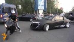 В Бишкеке презентовали первый кыргызский автомобиль