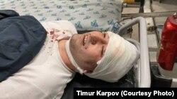 Блогер Миразиз Базаров был избит 28 марта неизвестными лицами.