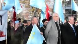 Акція протесту під посольством Росії в Анкарі (відео)