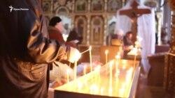 Рождество в Крыму: украинская песня и молитва (видео)