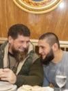 Chechen head Ramzan Kadyrov with UFC fighter Khamzat Chimaev in January, 2021 in Grozny \ Рамзан Кадыров и Хамзат Чимаев в Грозном