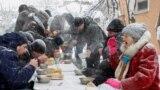 Благотворительный обед для бездомных в Ставрополе