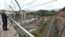 Հայ-վրացական սահմանի Բագրատաշեն-Սադախլո անցակետում նոր կամուրջ է կառուցվում