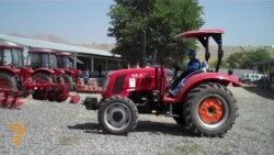 China Sends Tractors to Afghanistan
