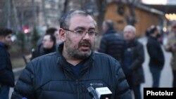 «Քաղաքացու որոշում» կուսակցության ղեկավար-անդամ Սուրեն Սահակյանը