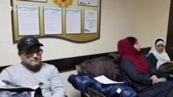 Enver Mamutov prokurornıñ suallerine cevap bermege istemedi (video)