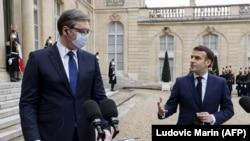 Вучиќ на средба со Макрон на 1 февруари во Париз.
