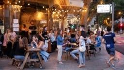 تازه یک ماه بود که رستورانها و مراکز تفریحی در اسرائیل بار دیگر به روی مردم باز شده بودند