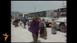 Arhivski snimci: Srebrenica, juli 1995.