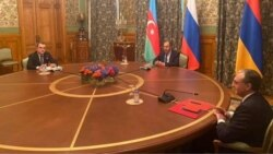 Մոսկվայում մեկնարկեց Հայաստանի, Ադրբեջանի և Ռուսաստանի ԱԳ նախարարների հանդիպումը