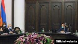 Заседание правительства Армении, Ереван, 1 июля 2021 г.