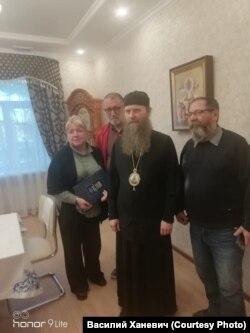 С епископом Колпашевским и Стрежевским Силуаном