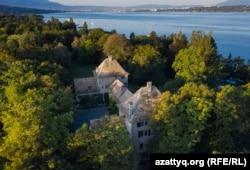 Швейцарский замок Бельрив, принадлежащий Динаре Кулибаевой.