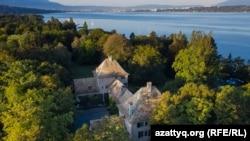 A Bellerive kastély Genfben, amelyet Nurszultan lánya 2019-ben vásárolt meg. Vételár: 113,2 millió dollár.