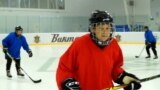Call Them 'Girls' Not 'Grannies': Meet The Russian Pensioners With Their Own Ice Hockey Team