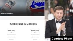 Ion Curmei, directorul agenției de turism care propune imuno-turul de la Moscova