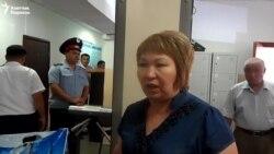 Адвоката Ажаркуловой не пустили в суд
