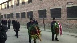 Merkel bën homazhe në Aushvic