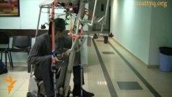 Робот, сделанный казахскими студентами