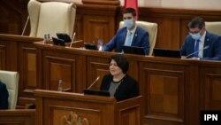 Parlamentul a votat guvernul PAS, condus de Natalia Gavrilița, 6 august 2021/ IPN