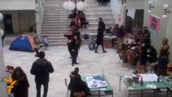 13.02.2015 Студентска окупација во Скопје, смртоносни напади во Пакистан