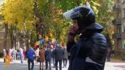 У Кишиневі вимагали звільнити з-під варти опозиціонера Усатого (відео)