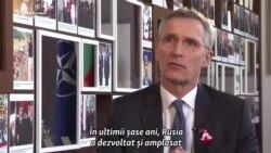 Jens Stoltenberg: Vom fi rezervați, vom fi defensivi în raport cu Rusia
