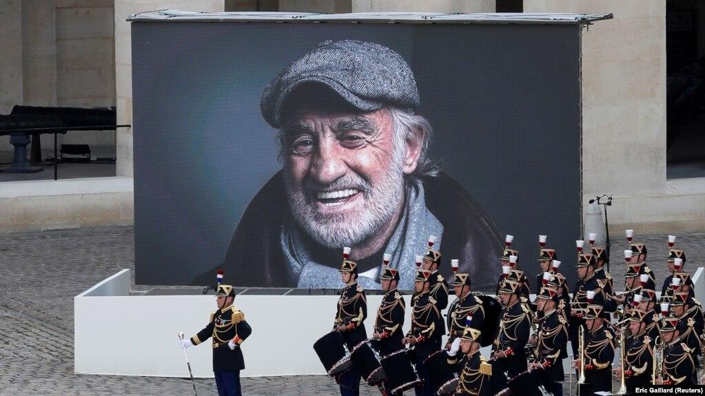 Церемония прощания с Жан-Полем Бельмондо, Париж, 9 сентября 2021 года