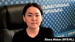 Психолог Сәуле Мұқанова. Қарағанды, 25 сәуір 2021 жыл.